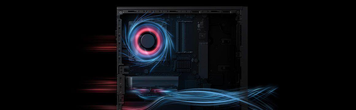 Huawei matestation sistema de enfriamiento silencioso