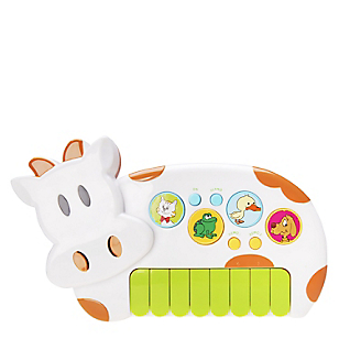 Piano de Juguete Animal Farm Cow
