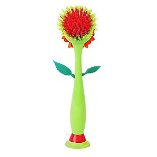 Cepillo para Lavar Diseño de Flor
