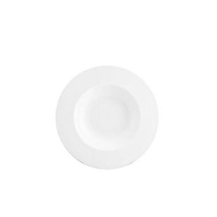 Plato Gourmet Hondo 23 cm Blanco