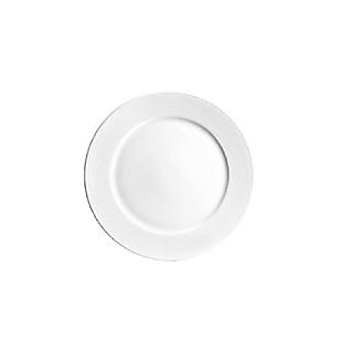 Plato Tendido para Buffet 23 cm Blanco