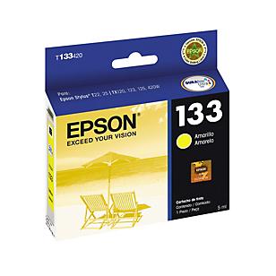 Epson Cartucho de Tinta T133420 color amarillo