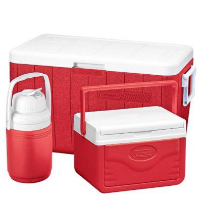 Cooler 45.5 lt + Mini Cooler Flip Lid 4.7 lt + Jarra 1.26 lt