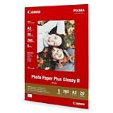 Papel Fotográfico Plus Glossy II A3 x 20
