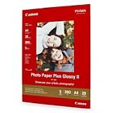 Papel Fotográfico Plus Glossy II A4 x 20