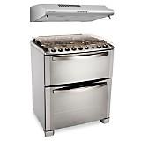 Cocina con doble horno 76DTX  30