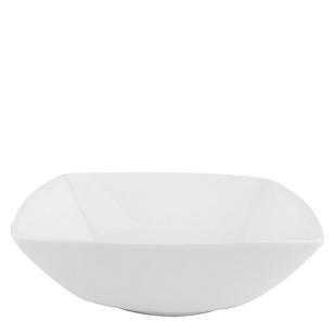 Bowl Cuadrado Blanco 17X5.5H
