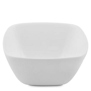Bowl Cuadrado Blanco 12X6H