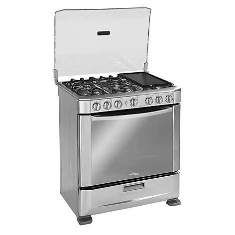 Cocina a gas mabe ingenious761px1 6 quemadores for Cocina 6 quemadores