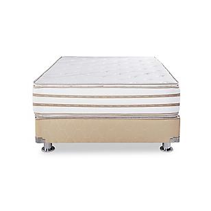 El Cisne Colchón + Box Tarima Galena Pillow Top King