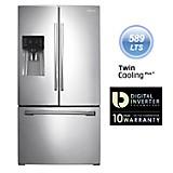 Refrigeradora 725 lt RF263BEAESL/PE Silver