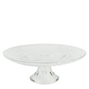 Roberta Allen Plato Torta con Base Decorado 30 cm