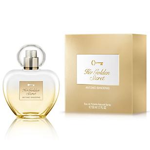 Fragancia de Mujer Her Golden Secret EDT 50 ml