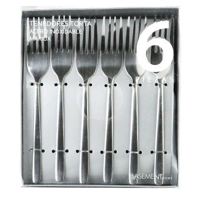 Basement Home Set x6 Tenedores para Postre