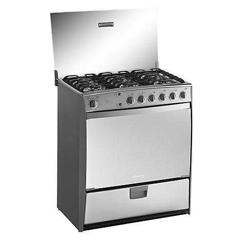 Cocina a gas versalles 6 quemadores - Limpiar quemadores cocina gas ...