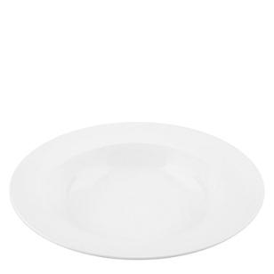 Plato de Sopa Redondo Blanco 27CM