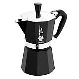 Cafetera Moka Negro 6 tazas