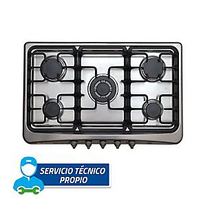 Cocina Empotrable ECM 80 CM-F 5 Quemadores