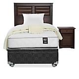 Set Dormitorio Bordeaux Boxet Ergo-T 1,5 plz