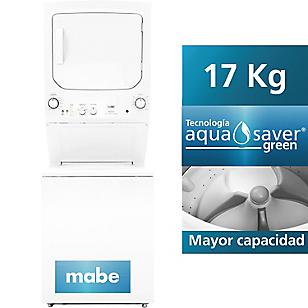 Centro de Lavado a Gas 17 kg MCL1740PSBB0 Blanco