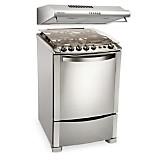 Cocina a Gas 4 Quemadores + Campana Extractora 3 Velocidades