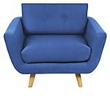 Sofá 1 Cuerpo Corcega Azul