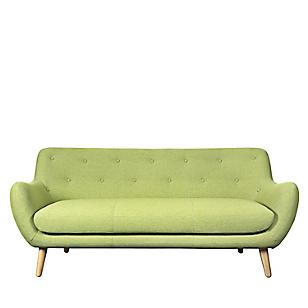 Sofá 3 Cuerpos Norman Verde