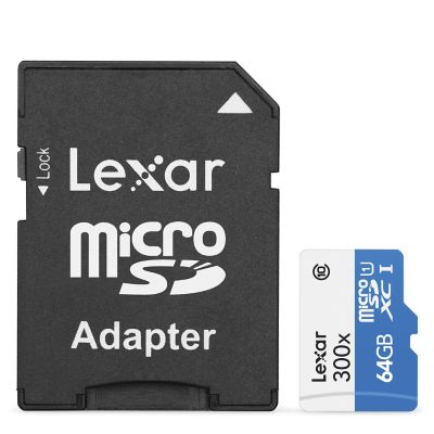 Lexar Tarjeta Micro SD SDMI-64GB300 64GB
