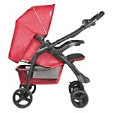 Coche Travel System Andes Rojo