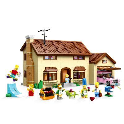 Lego Set La Casa de los Simpson