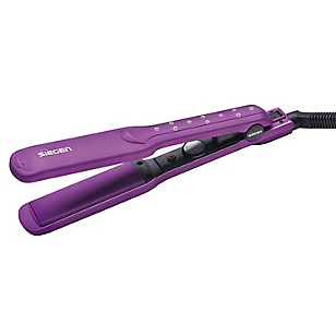 Alisadora Nano Silver Purple SG-3540 Placas de Cerámica