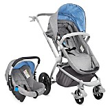 Coche Travel System Night Azul