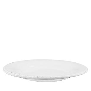 Plato de Fondo 29 cm Libélula Blanco