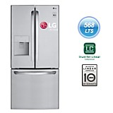 Refrigeradora Side by Side GM-F223RSXM Inox 568 lt