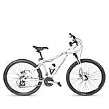 Bicicleta Moonstone BA2662BLG  Aro 26 Blanco/Gris