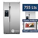 Refrigeradora 755 lt. PSDS6FGGFSS Inox