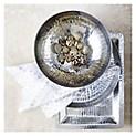 Adorno Plato Martillado de Aluminio 40 cm