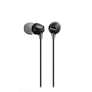 Audífonos Internos In Ear MDREX15LP Negro