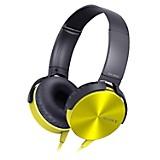 Audífonos Extra Bass XB450AP amarillo