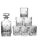 Set Whisky Botella y Vasos Opera x 7