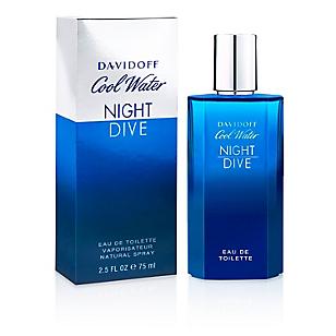 Fragancia Night Dive Davidoff para Hombres Edt 75 ml