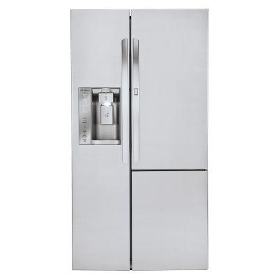 LG Refrigeradora Side by Side 703 lt Inox