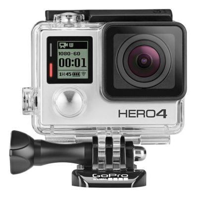 GoPro C&aacutemara Outdoor Hero 4 Silver Adventure Ultra HD 12 MP