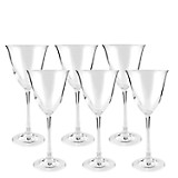 Set de Copas x6 para Vino Blanco