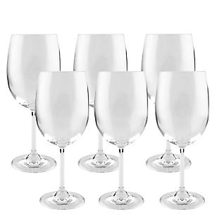Set de Copas x6 para Vino Tinto