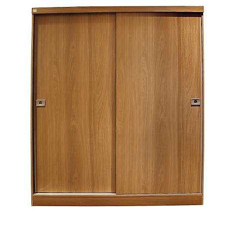Ropero ambienta 2 puertas correderas for Planos de roperos de madera