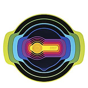 Set x9 Bowls Apilable Colores
