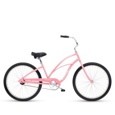 Electra Bicicleta Mujer Cruiser 1 Ladies Rosada Aro 26