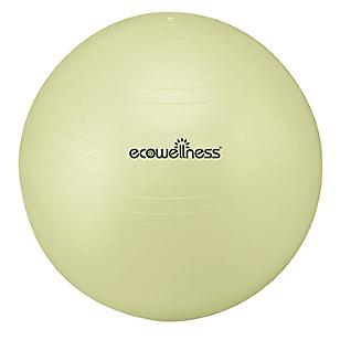 Ecowellness Balón para Pilates Verde Claro