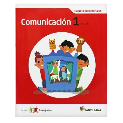 Santillana Libro de Comunicaci&oacuten t. Juntos 1